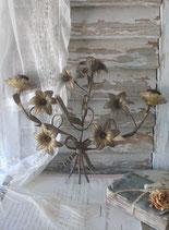 Antiker Lilienleuchter / Wandleuchter aus Frankreich