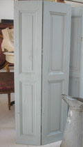 Shabby: Alter Holz Klappladen aus Frankreich