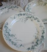 Shabby: Alte Speiseteller Keramik Frankreich (3 St.)