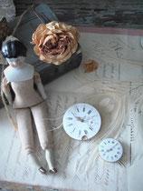 Antike kleine Zifferblätter emailliert Taschenuhr Frankreich