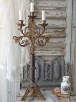 Antiker großer Kirchenleuchter / Altarleuchter aus Frankreich