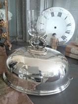 Versilberte Speise Glocke England 1900