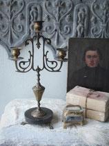Antiker 3-flammiger Kerzenleuchter aus Frankreich