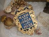 RAR: Altes Metallschild  aus Frankreich