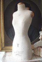 RAR: Antike Miniatur Schneiderbüste Girard Paris