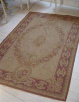 Wunderschöner alter Aubusson Teppich Frankreich