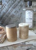Set dekorativer alter Keramiktöpfchen Frankreich
