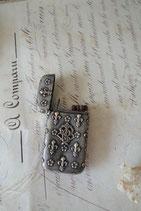 Antike versilberte Streichholz Box Frankreich