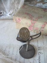 Antiker Siegel Wachs Stempel Monogramm