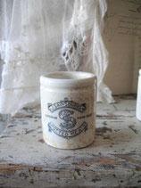 Shabby: Altes Keramik Töpfchen aus England 1900
