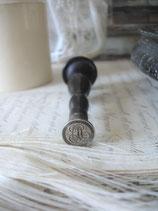 Antiker Siegel Wachs Stempel Monogramm Frankreich