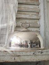 Kleine versilberte Speise Cloche England 1880