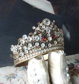 RAR: Wunderschöne große antike Madonnen Krone Frankreich 19. Jahrh.