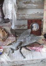 Dekorativer alter Aschenbecher Fliege Frankreich