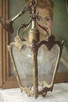 Zauberhafte alte Flurleuchte / Laterne aus Frankreich