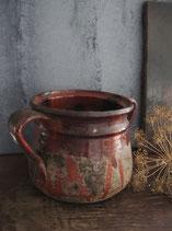 Alte französische Keramik Topf um 1900