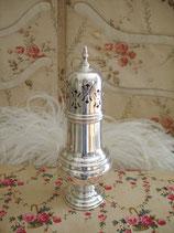 Dekorativer alter Zuckstreuer Sheffield aus England