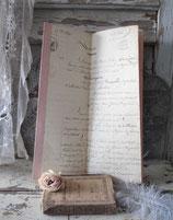 Dekorative alte handgeschriebene Quittung/Verkauf 1846 Frankreich