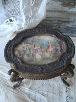 Seltene antike Schmuckdose Frankreich