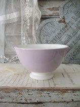 Shabby: Dekorative alte Keramik Bol aus Frankreich
