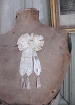 Shabby: Antikes großes Abzeichen / Rosette Wehrpflichtige Frankreich