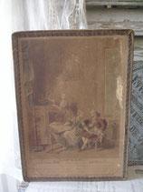 Zauberhafte alte große Pralinenschachtel aus Frankreich