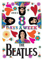 The Beatles Scheurkalender 2021