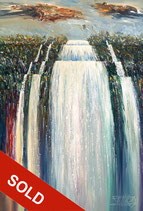 Mystery Waterfall XL 1 / SOLD