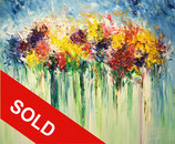 Flower Field SM 1  / SOLD