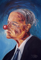 Faces: Red Nose Businessman M1