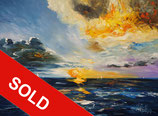 Beautiful Seascape Sunset M 1  / SOLD