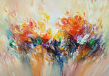 Abstraction Orange M 1 / SOLD