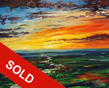 Landscape: Evening Mood M 4 / SOLD