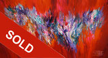 Red Energy Abstraction L 1 / SOLD