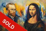 Vincent Meets Mona Lisa XL1 / SOLD