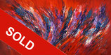 Red Energy Abstraction XXL 1 / SOLD
