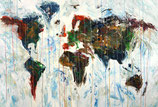 Abstract World Map XL 2