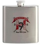 Stainless Steel Flask with Logo