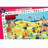 """Wimmelpuzzle  """"Märchen"""" 54 Teile + booklet  von DJECO"""
