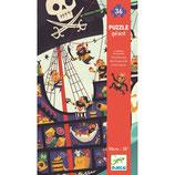 Bodenpuzzle: Das Piratenschiff von DJECO