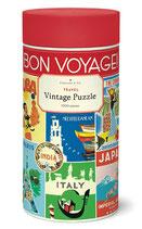"""Travel - Reise""Cavallini Vintage Puzzle"