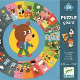 Bodenpuzzle: Der Tag von DJECO