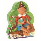 Silhouette Puzzle: Pinocchio - 50 Teile von DJECO