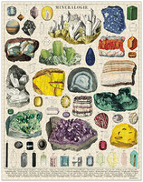 """Mineralien"" Cavallini Vintage Puzzle"