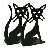 Katze Buchstütze - 2 Stück im Set (von Pluto)