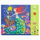 Mosaik Glitzer: Der Gesang der Meerjungfrauen von DJECO