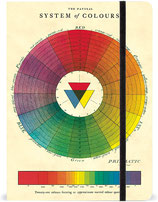 Cavallini Notizbuch, Notebook Syste of Colours - Farbenlehre