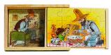 Petterson und Findus Kistenpuzzle
