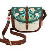 """Designer Handtasche, Schultertasche """"Secret Garden Fox"""" von DISASTER"""