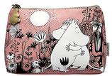 Moomin Kosmetiktasche - rosa -, Make-Up Tasche von DISASTER